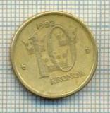 11236 MONEDA -SUEDIA(SVERIGE) - 10 KRONOR -ANUL 1992 -STAREA CARE SE VEDE, Europa