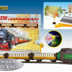 Trenulet Electric Calatori Expresul Transiberian, Pequetren