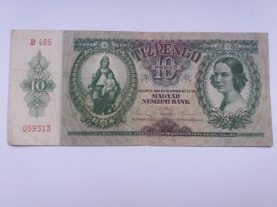 Ungaria 10 pengo 1936 foto