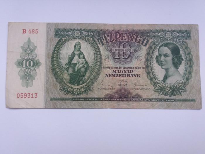 Ungaria 10 pengo 1936