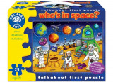 Puzzle Spatiul Cosmic (25 Piese) Who's In Space, orchard toys