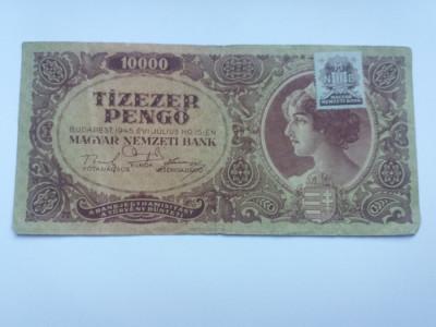 Ungaria 10000 pengo 1945 foto