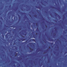 Elastice Rainbow Loom Jelly Albastru-Ocean