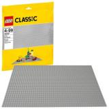 LEGO® Classic - Placa de baza Gri 10701