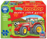 Puzzle Fata Verso Tractor (12 Piese) Little Tractor, orchard toys
