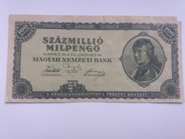 Ungaria 100 millio pengo 1946