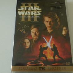 Star wars III -dvd, Engleza