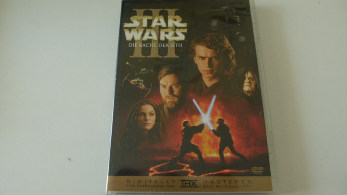 Star wars III -dvd