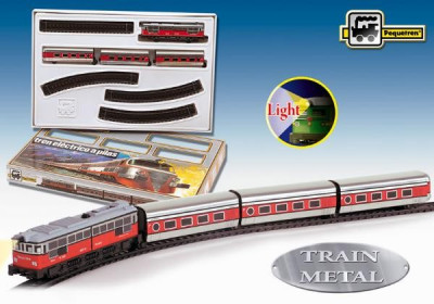 "Trenulet Electric Calatori ""Articulado"" foto"