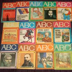 1976-1985 Lot 13 carticele Colectia ABC, amintiri din Epoca de Aur