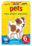 Set 6 Puzzle Animale De Companie (2 Piese) Pets, orchard toys