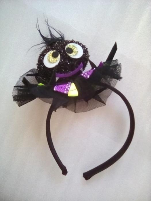 Decor Halloween -  cordeluta cu paianjen