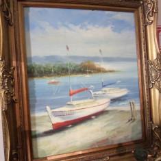 Ulei pe panza o lucrare superbă, Marine, Realism