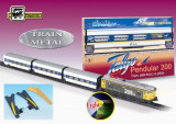 Trenulet Electric Calatori Talgo Pendular 200, Cu Macaz, Pequetren