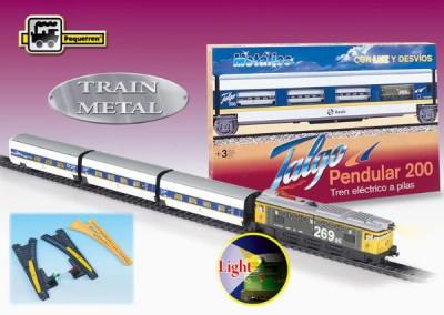 Trenulet Electric Calatori Talgo Pendular 200, Cu Macaz foto