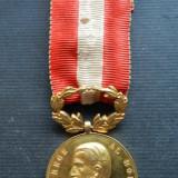 Medalie Carol I -  Rasplata Muncii pentru Invatamant Clasa I
