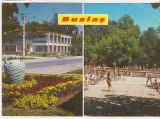 Bnk cp Buzias - Vedere - circulata, Printata