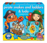 Joc De Societate Piratii Pirate Snakes And Ladders & Ludo