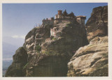 Vedere color, 106 x 148 mm, necirculata,  Varlaam, Meteora, Grecia, circa 2000, Printata