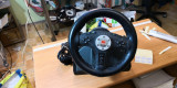 4in1 Leather FF Steering Wheel SL-6696 pt. PS2 (GAB)