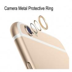 Inel protectie Camera pentru iPhone 6 6 Plus Culoare Aur