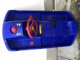 Sanie tip bob,cu volan