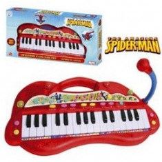 Orga Electronica Cu Microfon Spiderman, Reig Musicales