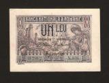 ROMANIA - 1  LEU -  1915 -  . SERIE CU 3 CIFRE . APROAPE NECIRCULATA . AUNC