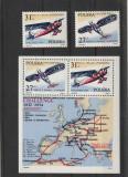 Aviatie ,istorie,avioane  ,raiduri ,Polonia., Nestampilat