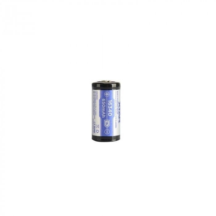 XTAR 16340 Li-ion 650mAh 3.6V - Protected Set 5 Bucăți