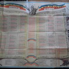 CALENDAR ORTODOX 1989