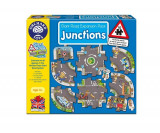 Puzzle Gigant De Podea Intersectii (10 Piese) Giant Road Expansion Pack Junction, orchard toys