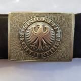 CUREA,CENTURA,PAFTA, GERMANA (NAZISTA) - PT. UNIFORMA SCOLILOR DE OFITERI -WW2