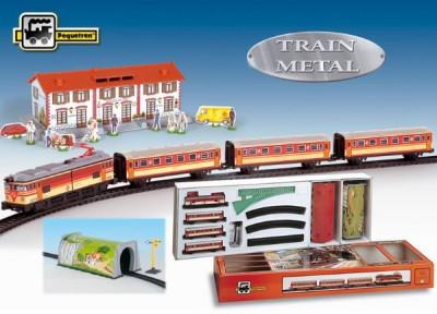 Trenulet Electric Calatori, Cu Statie Si Tunel foto