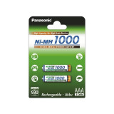 Panasonic 1000mAh AAA Rechargeable Battery NiMH Set 1x Blister
