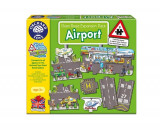 Puzzle Gigant De Podea Aeroport (9 Piese) Giant Road Expansion Pack Airport, orchard toys