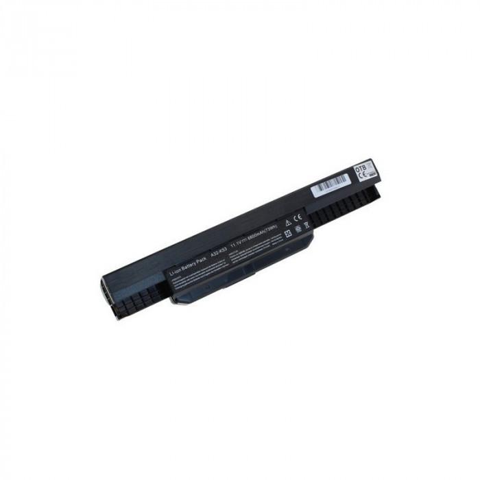 Acumulator pentru seriile Asus A53 / K53 / X53 Capacitate 6600 mAh