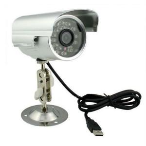 Camera supraveghere, suport card micro SD, interior/exterior