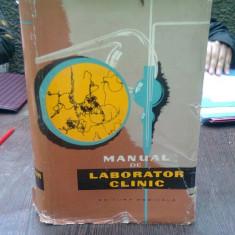 Manual de laborator clinic - colectiv de autori
