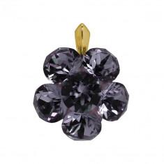 Intus - Pandantiv Argint Placat cu Aur si Cristale Swarovski, BijouxMAG