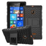 Husa Microsoft Lumia 435 Armor KickStand Black