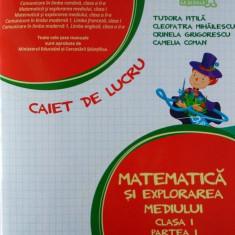 Matematică şi explorarea mediului. Caiet de lucru Clasa I, partea I