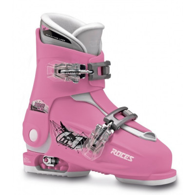 Clapari reglabili copii Roces Idea Up Deep Pink/White 2 clape foto