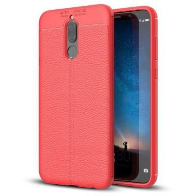 Husa Huawei Mate 10 Lite (2017) Iberry Litchi Flexible Red foto