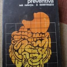 Gastroenterologie preventiva dumitrascu carte stiinta medicina editura medicala, Alta editura, 1987
