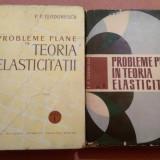 Probleme Plane In Teoria Elasticitatii. 2 Volume - P. P. Teodorescu, Alta editura, 1961