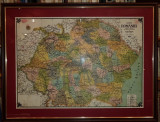 MOLDOVEANU M. D. (Profesor-Cartograf) - HARTA ROMANIA MARE (Scara 1:1.000.000), 1928, Bucuresti