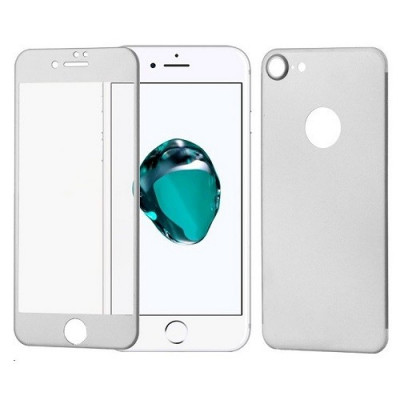 Folie Sticla Iphone 7 Iphone 8 Wozinsky 3D 360 Silver foto