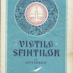 AS - VIETILE SFINTILOR PE SEPTEMBRIE