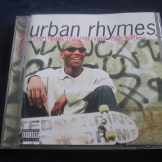 Various - Urban Rhymes _ dublu cd _ Global Tel. ( UK ,1998 )